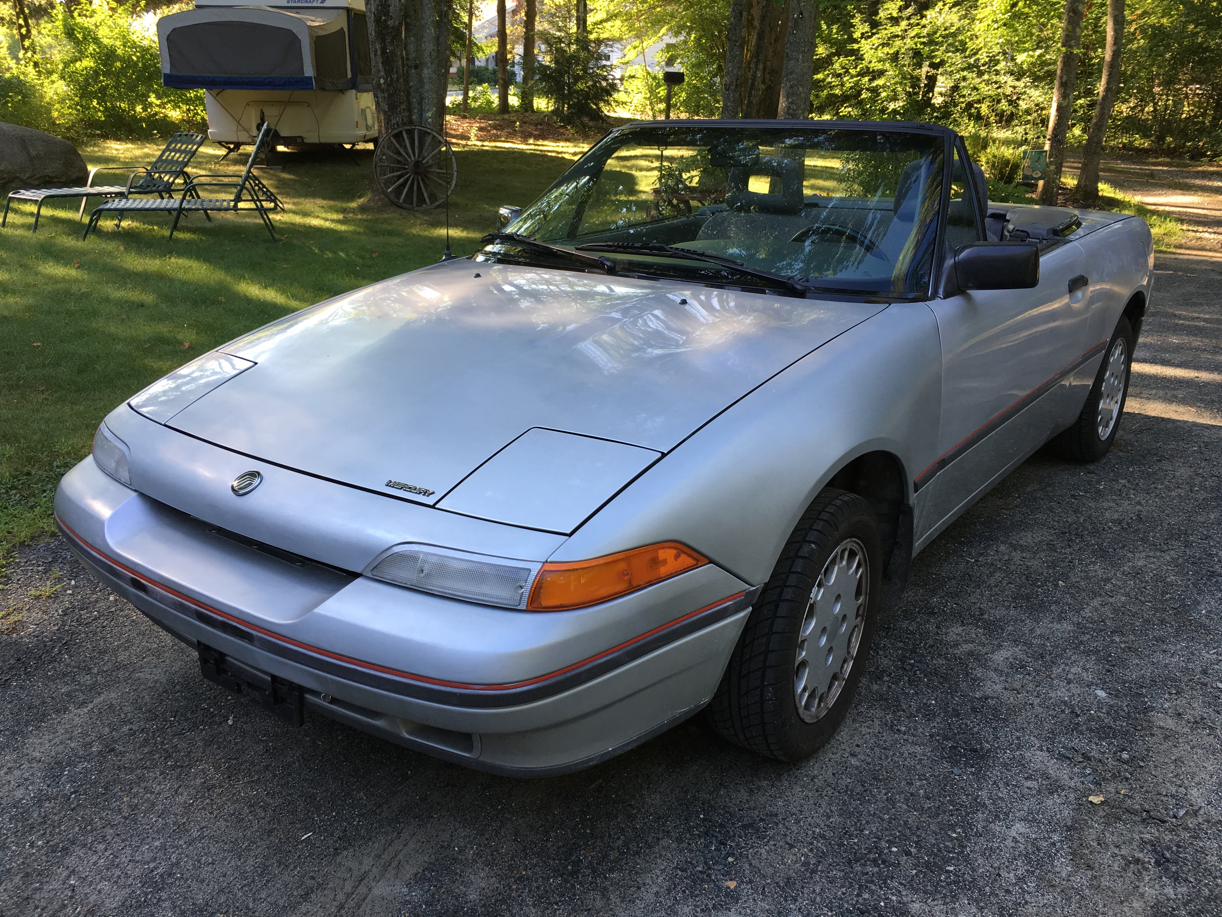 1991 Mercury Capri Xr2 Stock Convertible For Sale In Athol Ma